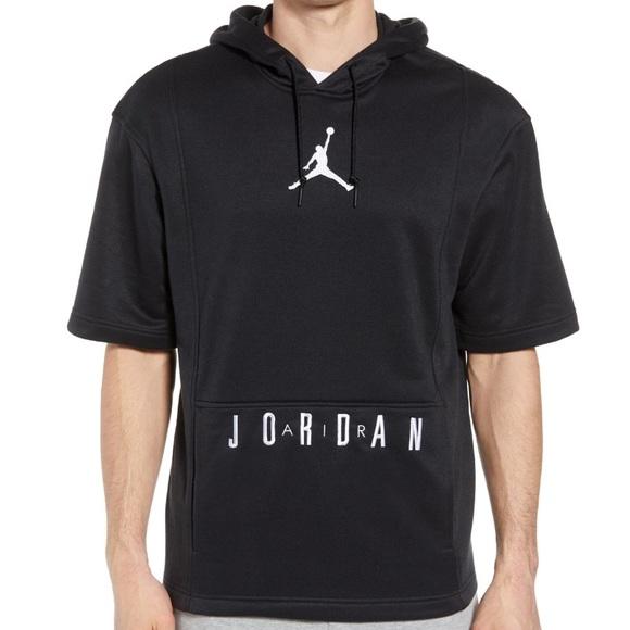 Simetría Guia Anuncio  Nike Sweaters | Nike Air Jordan Basketball Hoodie Short Sleeve | Poshmark